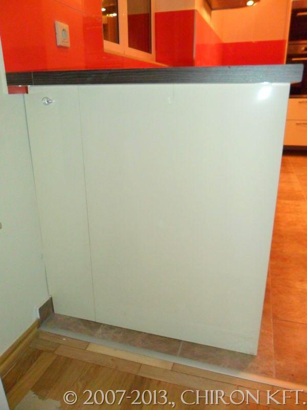 IKEA konyha lábazat nélkül
